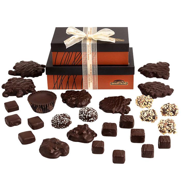 Rocky Mountain Chocolate Factory Dark Chocolate Assortment, 2 lb