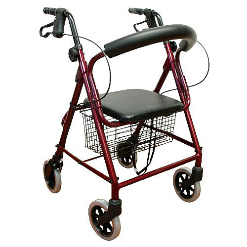 Rollators, Junior Size, Low Seat, Metallic Blue, Karman