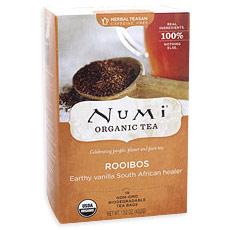 Rooibos Tea, Herbal Teasan, 18 Tea Bags, Numi Tea