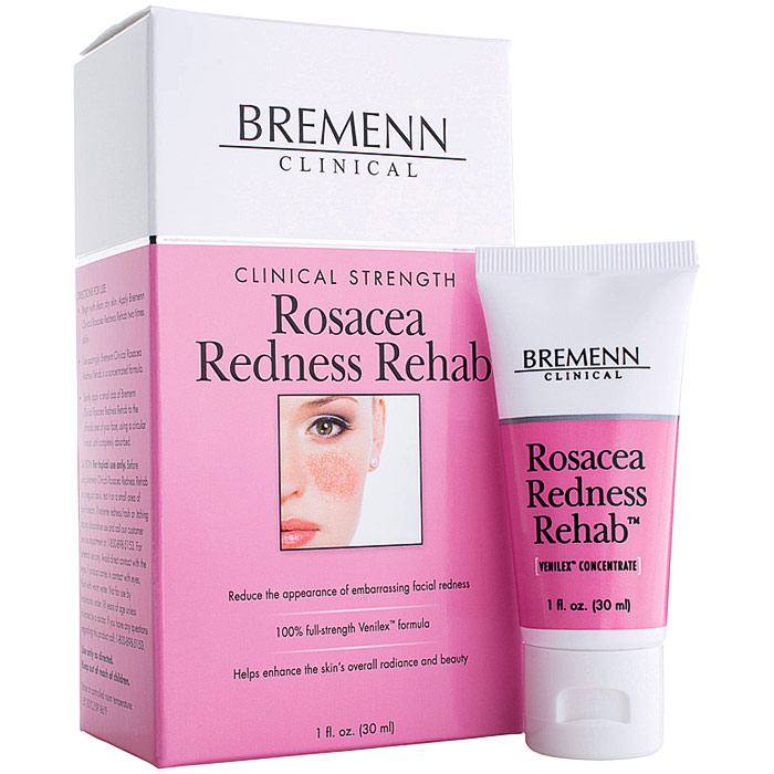 Clinical Strength Rosacea Redness Rehab, 1 oz, Bremenn Research Labs