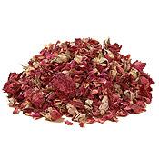 Rose Buds & Petals, Ethically Wildcrafted, (Rosa centifolia), 8 oz, Vadik Herbs (Bazaar of India)