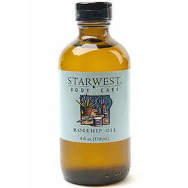 Rose Hips Oil, Topical Oil 4 oz, StarWest Botanicals