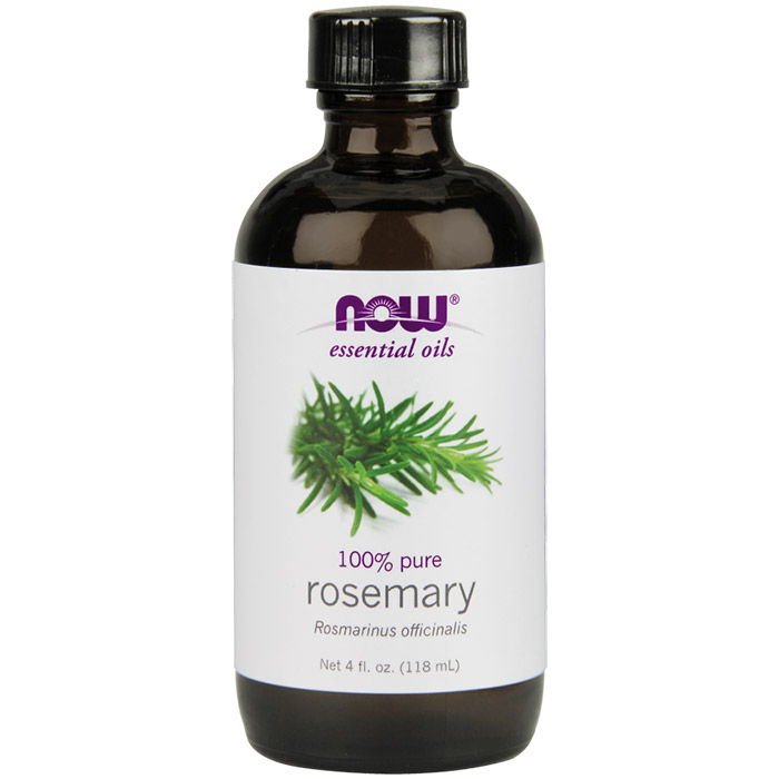 Rosemary Oil, 4 oz, NOW Foods
