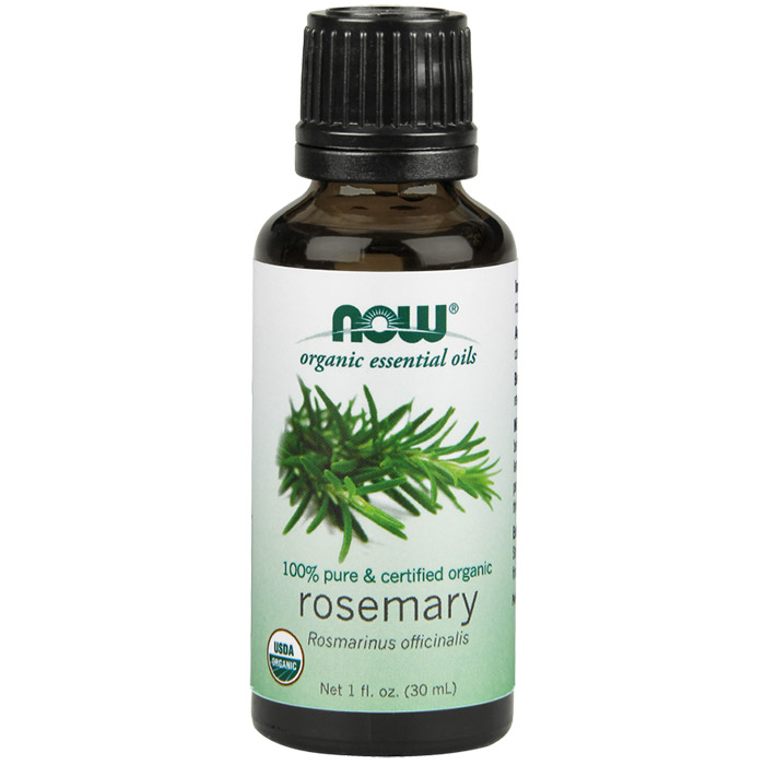 Rosemary Oil, Organic Essential Oil 1 oz, NOW Foods