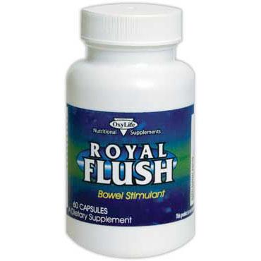 Royal Flush (Bowel Stimulant), 60 Capsules, Oxylife Products