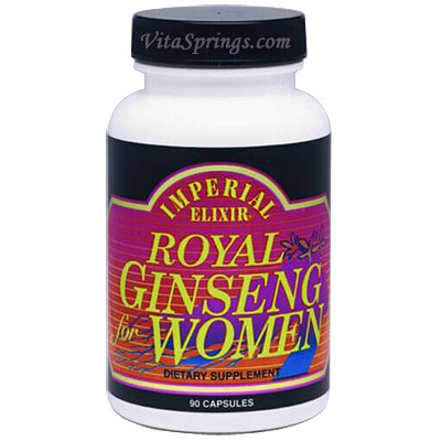 Royal Ginseng for Women 90 caps from Imperial Elixir Ginseng