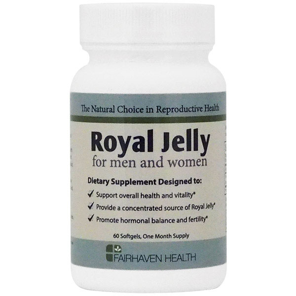 Royal Jelly for Men & Women, 60 Softgels, Fairhaven Health