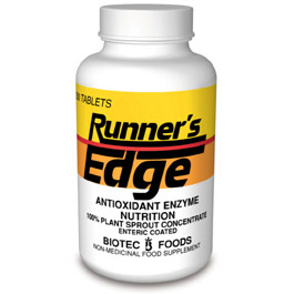 Image of Runner's Edge 200 tabs from Biotec Foods
