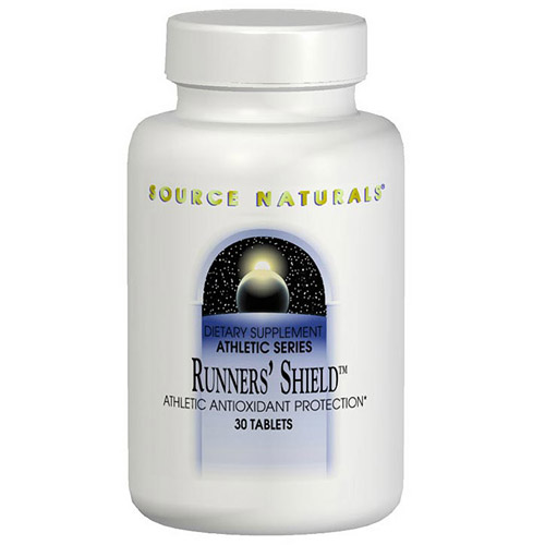 Runners Shield Athletic Antioxidant Protection 60 tabs from Source Naturals