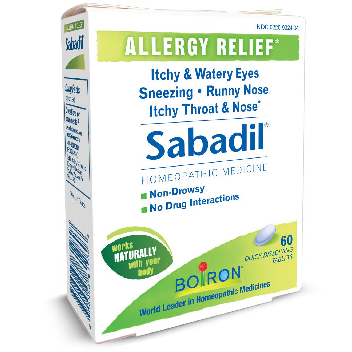 Sabadil Allergy Relief 60 tabs from Boiron