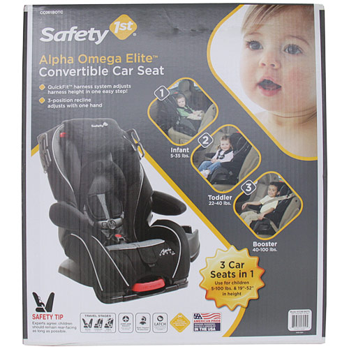 Safety 1st Alpha Omega Elite Convertible Car Seat Special Deal