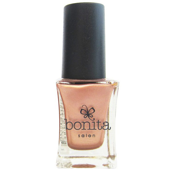 Image of Bonita Salon Nail Polish - Rose Gold, 0.5 oz (15 ml), Bonita Cosmetics