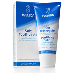 Salt Toothpaste w/Baking Soda 3.3 fl oz from Weleda