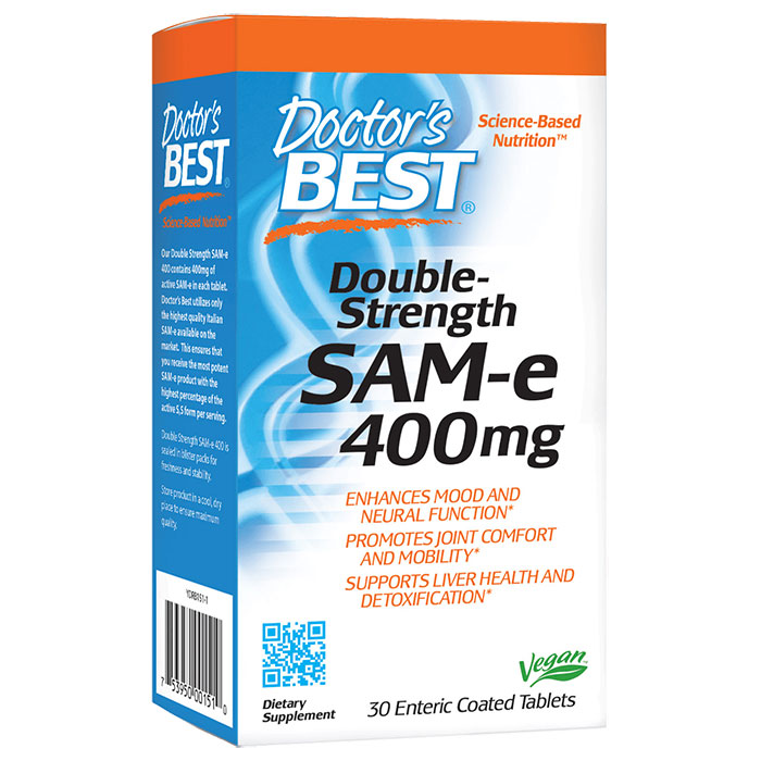 SAMe 400mg, SAM-e Double Strength 30 tablets, from Doctor