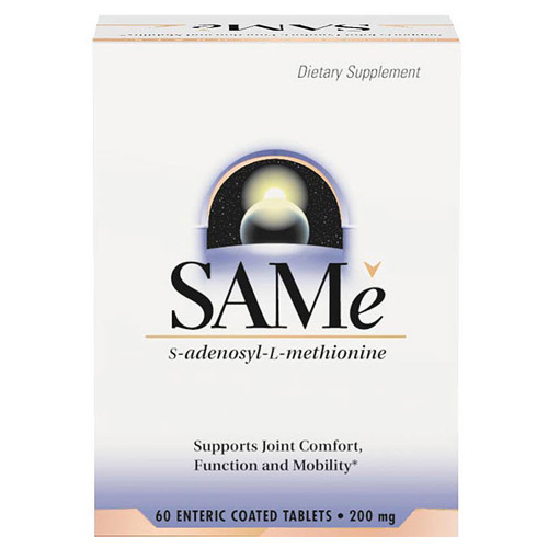 SAMe 200mg (SAM-e) Enteric Coated 20 tabs from Source Naturals