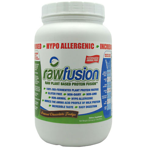 SAN Nutrition Raw Fusion, Raw Plant Based Protein Fusion, 30 Servings