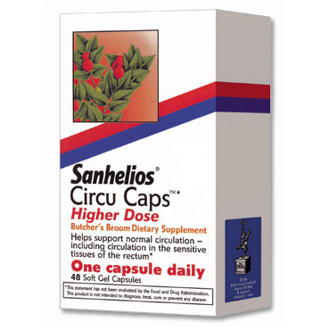 Sanhelios Circu Caps Higher Dose 48 capsules, from Bioforce Sanhelios