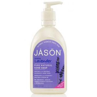 Hand Soap - Calming Lavender, 16 oz, Jason Natural