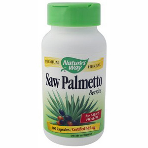 Saw Palmetto Berries 585mg 100 caps from Natures Way