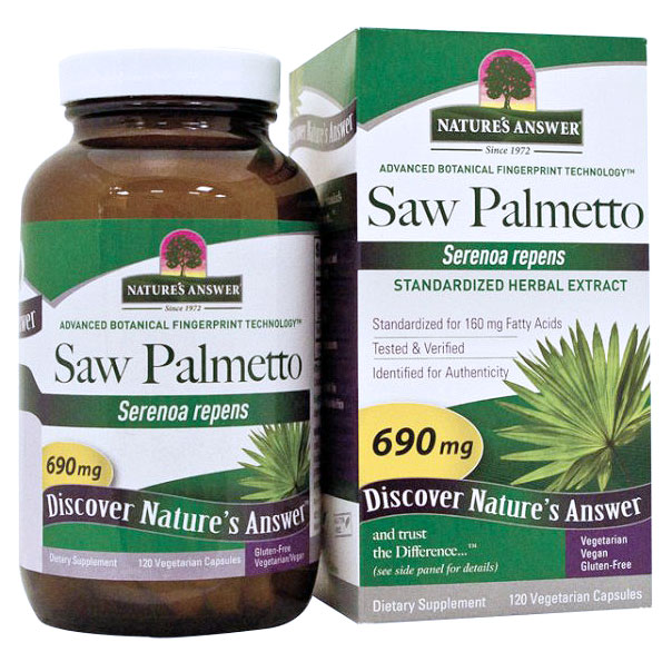 Saw Palmetto Berry Extract 120 vegicaps from Nature's Answer