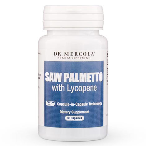 Saw Palmetto with Lycopene, 30 Capsules, Dr. Mercola