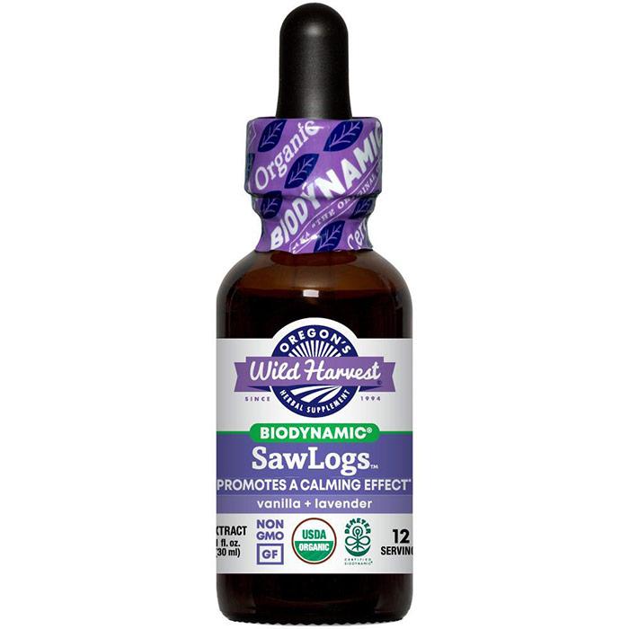 SawLogs, Biodynamic Herbal Tonic, Sleep Aid, 2 oz, Oregons Wild Harvest