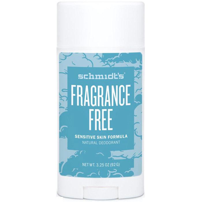 Schmidts Sensitive Skin Natural Deodorant Stick, Fragrance-Free, 3.25 oz