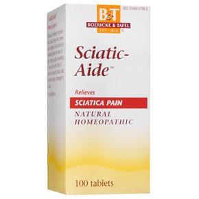 Sciatica Aide (SciaticAide), 100 Tablets, Boericke & Tafel Homeopathic