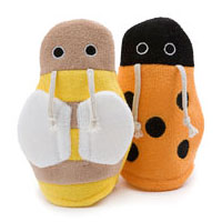 Scrubby Bath Mitts, Lady Bug, 1 pc, Little Twig - CLICK HERE TO LEARN MORE