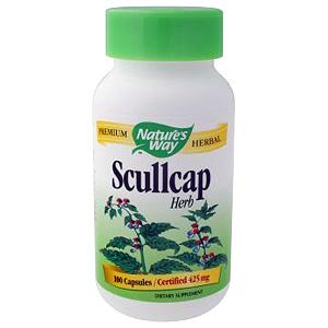 Scullcap (Skullcap) Herb 425mg 100 caps from Natures Way