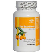 Sea Buckthorn Berry Oil 500 mg, 120 Softgels, Nu Health