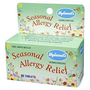 Seasonal Allergy Relief 60 tabs from Hylands (Hyland's)