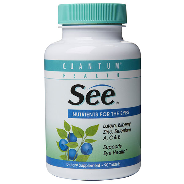 See, Nutrients For Eyes, 90 tabs, Quantum Health