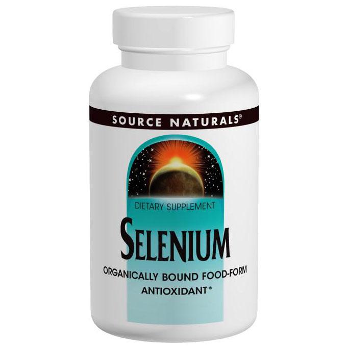 Selenomax Selenium 200 mcg, 60 Tablets, Source Naturals (Vitamins Supplements - Selenium)