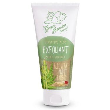 Sensitive Aloe Exfoliant, 4 oz, Green Beaver