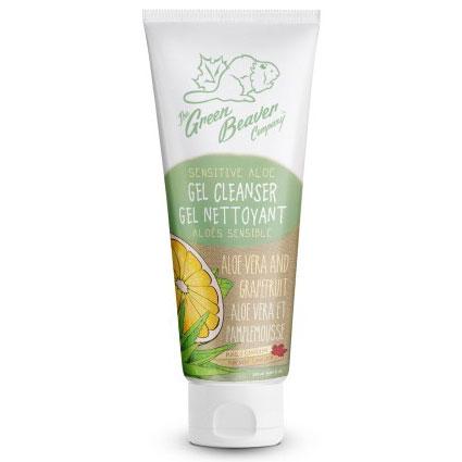 Sensitive Aloe Gel Cleanser, 4 oz, Green Beaver
