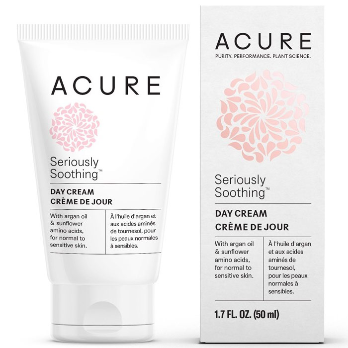 Acure Seriously Soothing Day Cream, 1.7 oz