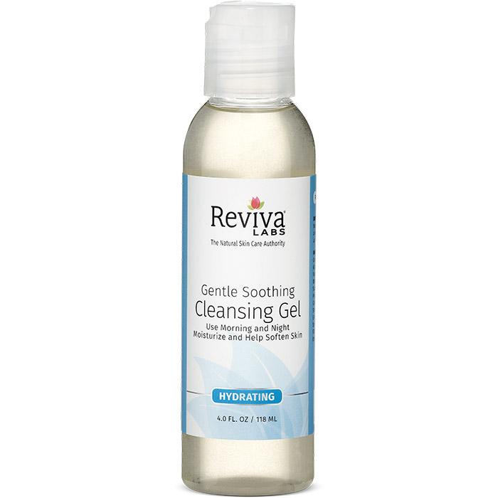Reviva Labs Gentle & Soothing Cleansing Gel, For Sensitive Skin, 4 oz
