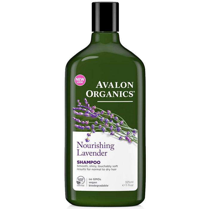 Shampoo Organic Lavender - Nourishing 11 oz, Avalon Organics
