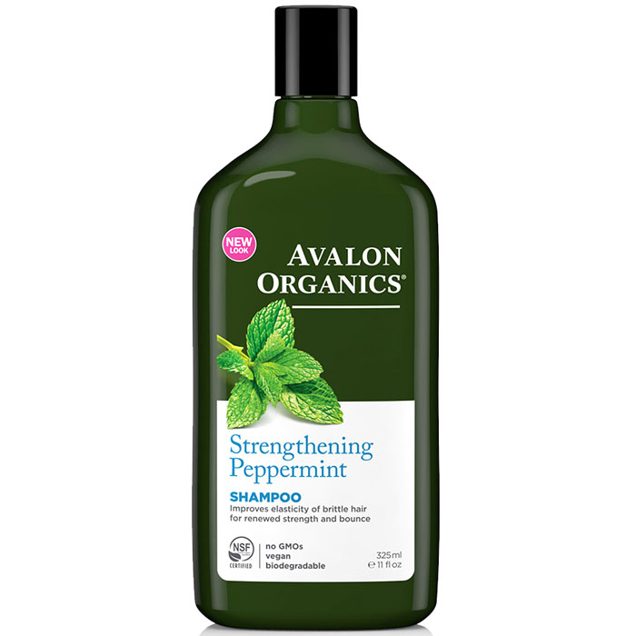 Shampoo Organic Peppermint - Revitalizing 11 oz, Avalon Organics