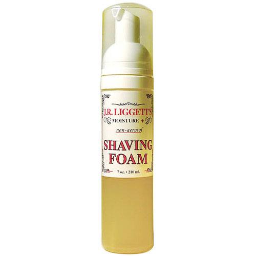 Shaving Foam, 100% Non-Detergent, 7 oz, J.R. Liggetts