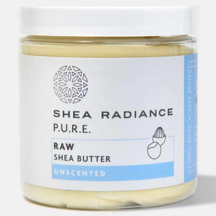 Shea Butter - Unscented, 7.5 oz, Shea Radiance
