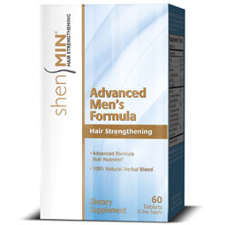 Shen Min Advanced Men's Formula, Hair Regrowth, 60 Tablets, Men's Hair Loss