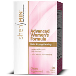 Shen Min for Women Advanced Formula, Hair Regrowth, 60 Tablets, Women's Hair Loss