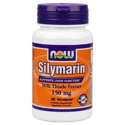 Silymarin Milk Thistle Extract 150 mg, 60 Veg Capsules, NOW Foods