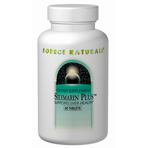 Silymarin Plus (Milk Thistle Seed Extract) 120 tabs from Source Naturals