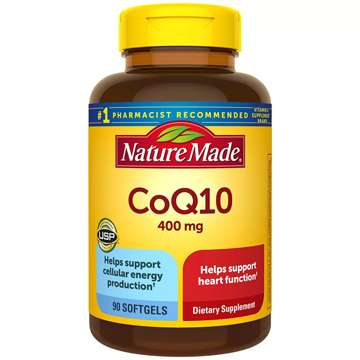 Members Mark Super Strength CoQ10 400 mg, 90 Softgels