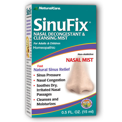 SinuFix Mist (Natural Sinus Relief Spray) .5 oz from NaturalCare