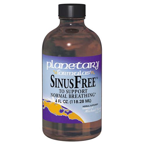 SinusFree (Sinus Free) Sinus Support Liquid 4 fl oz, Planetary Herbals