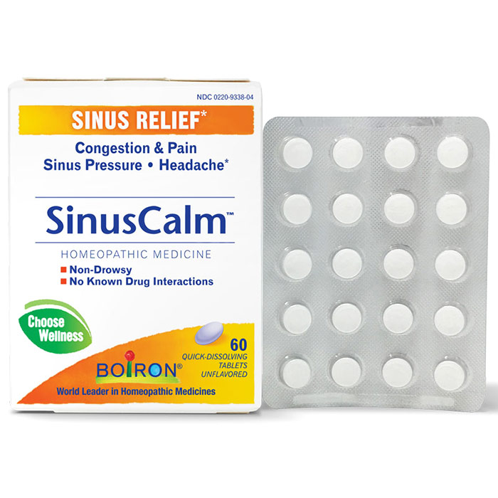 Sinusalia Sinus Pain Relief 60 tabs from Boiron